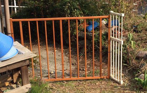 庭のゲート