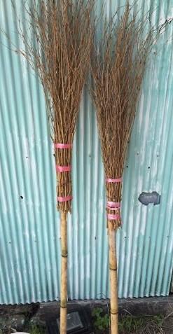 竹箒DIY
