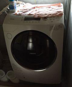 ドラム式洗濯機悪臭