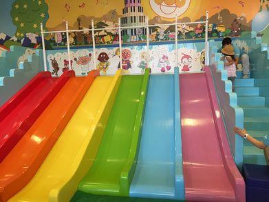 虹の滑り台