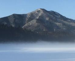 冬の烏帽子岳