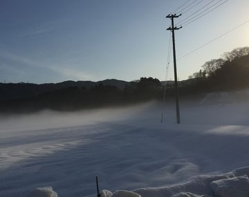 白銀の烏帽子岳 (2)