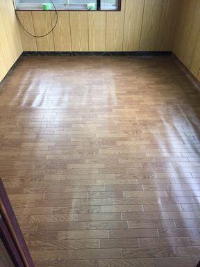 床がキレイに