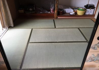 畳DIY完成