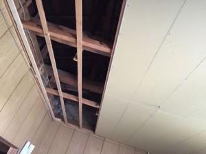 天井貼り2重張り