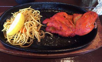 インド&タイ料理 Fulbariのタンドリーチキンランチ (2)